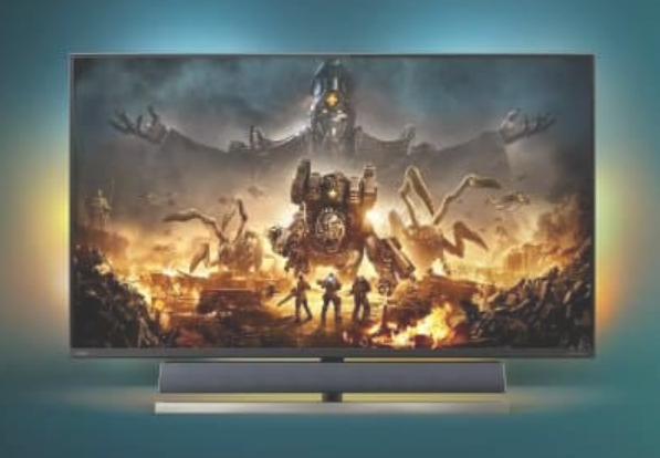 """Philips launches the world's first """"designed for Xbox"""" gaming monitor: 55-inch 4K Momentum 559M1RYV gaming monitor"""